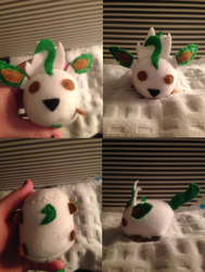 Leafeon Tsum - Commission for raindropmagic
