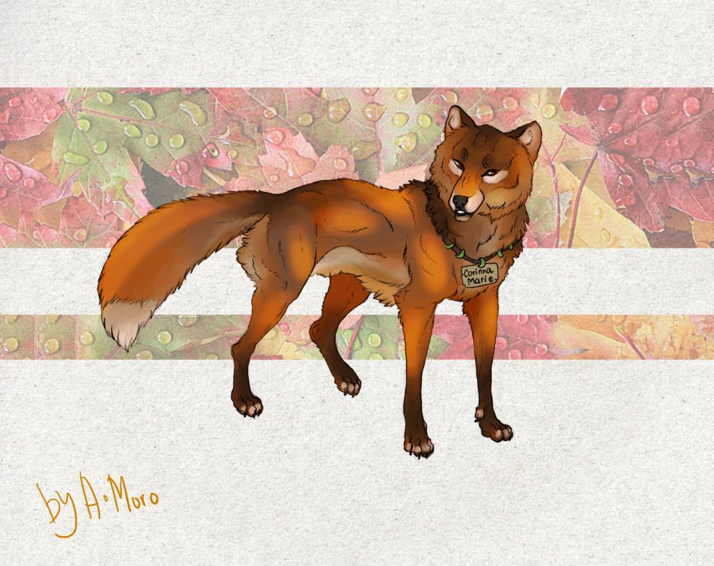 Autumn Fox |Art Trade|