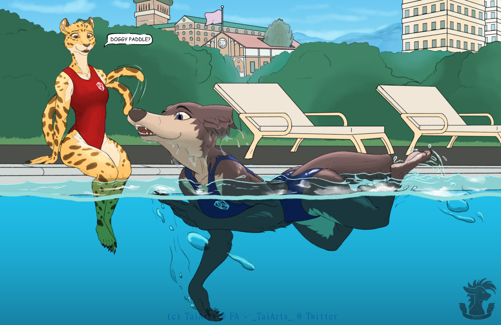 [CM] Juno and Sheila - Pool Day!