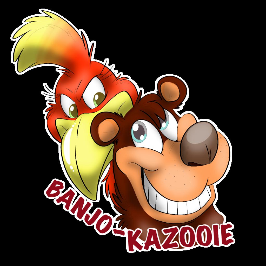 Banjo-Kazooie Headshot Badge