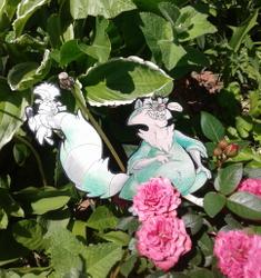 Toons in the garden