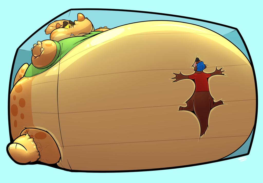 Most recent image: Dino-SMOOSH!