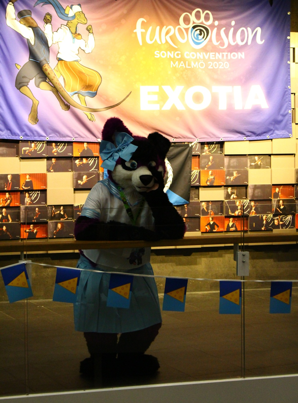 Just waiting here for Fursuit Friday