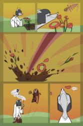 Everything's in ruin, Your Majesty (Comic)