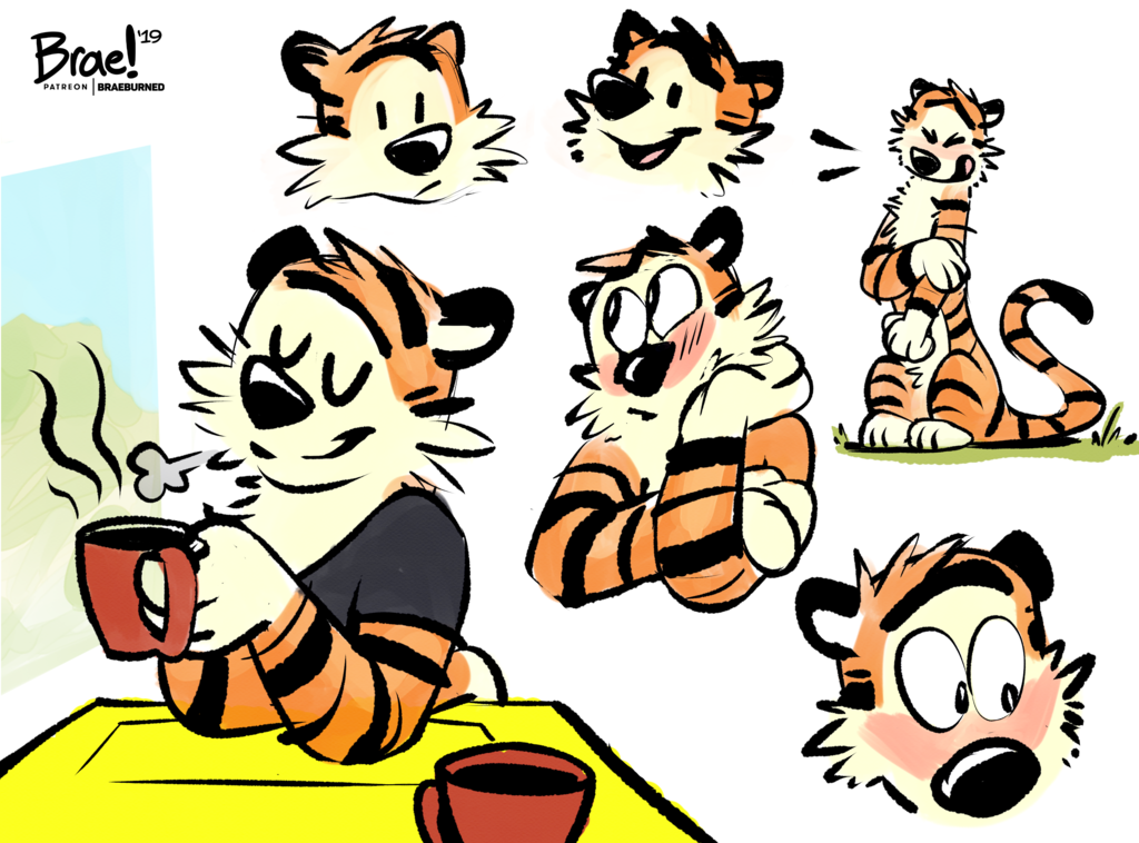 Most recent image: Hobbes Sketchpage - Oct. Request Stream