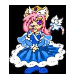 Queen Sherry Pixel Doll