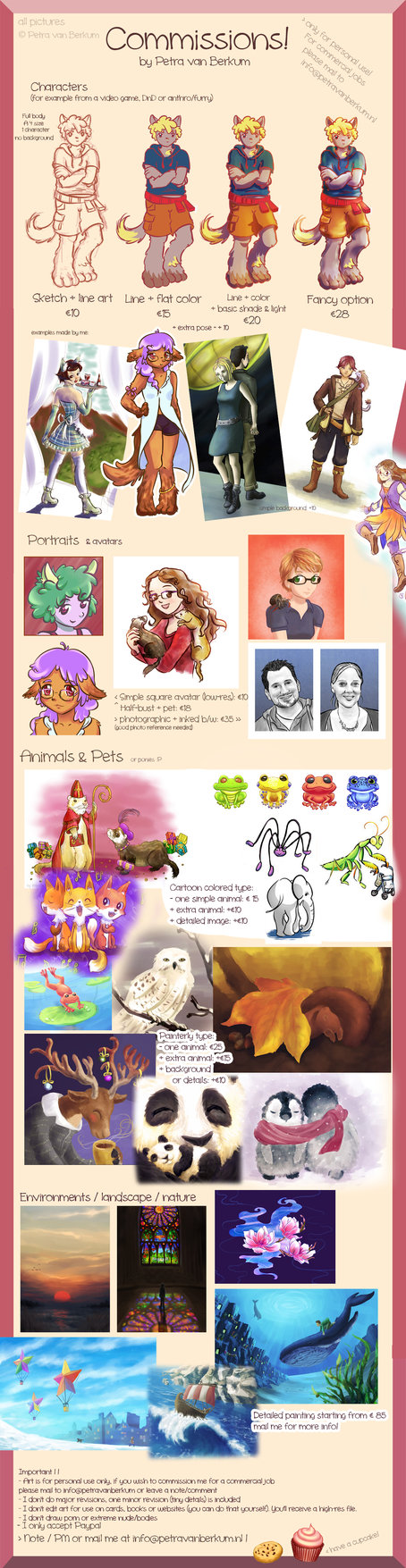 Most recent image: Commission info
