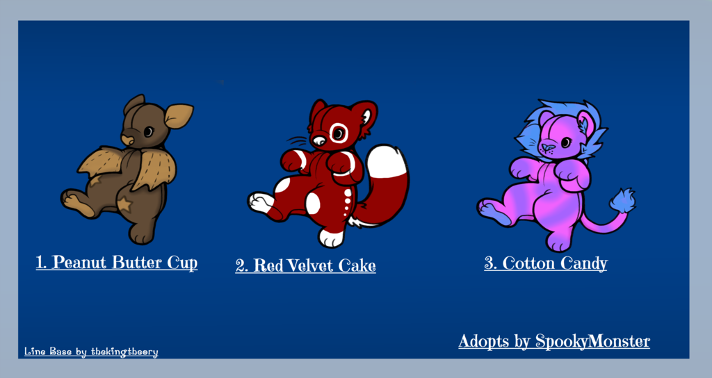 Most recent image: Adopt for Sale! $4 Each!