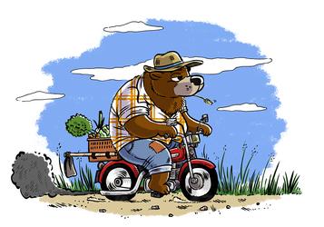 Farmer bear