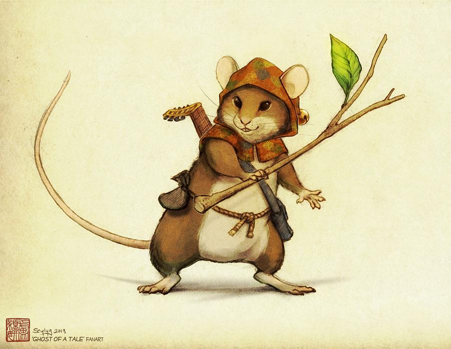[Fanart] Ghost of a Tale - Mouse Hero