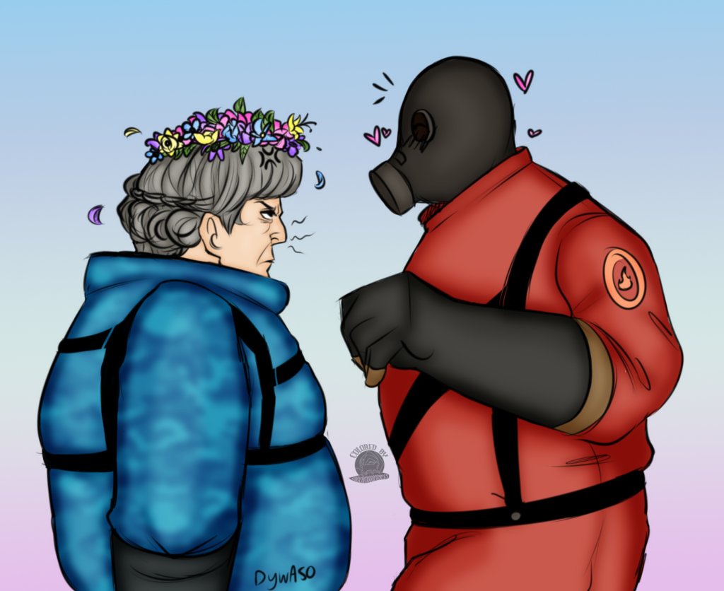 Classic and TF2 Pyro