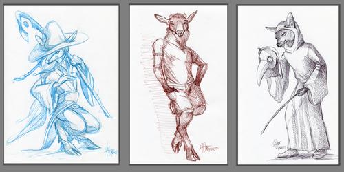 Frenzy sketch batch #1