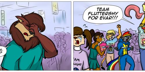 Red vs. Blue: FlutterMadness