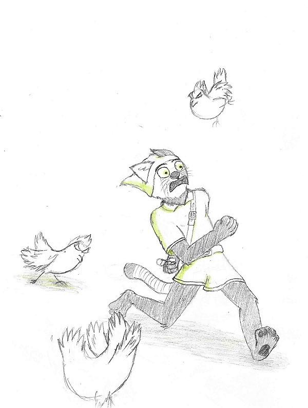 Sketchtober 5th - Chicken