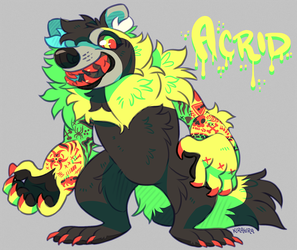 Acrid Were-Raccoon