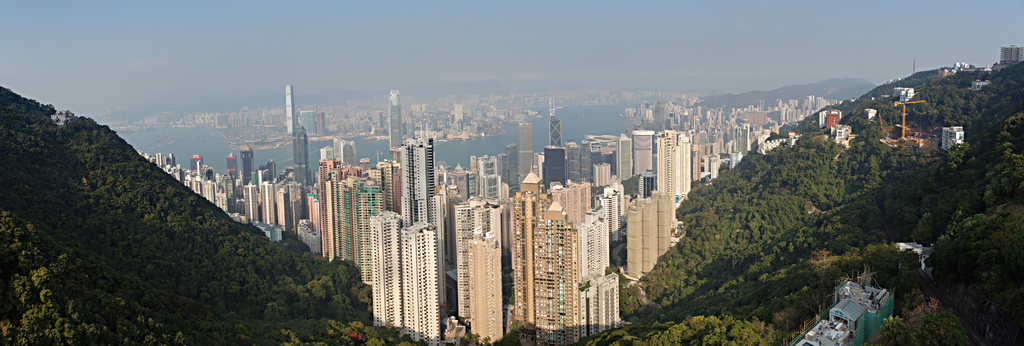 Hong Kong (Afternoon from Victoria Peak (太平山))