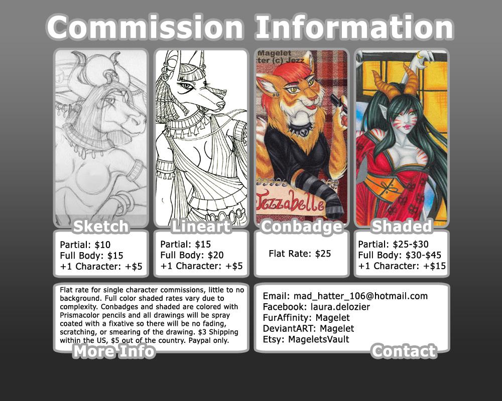Commission Info 2014
