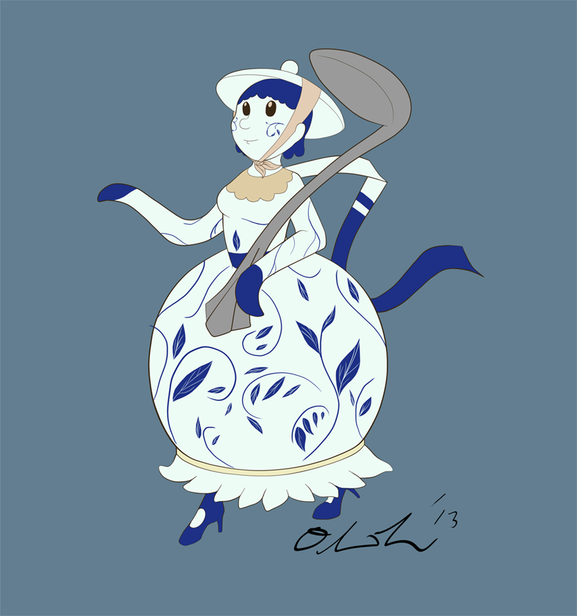 Featured image: Tsukumogami Girl Contest Entry: Teapot