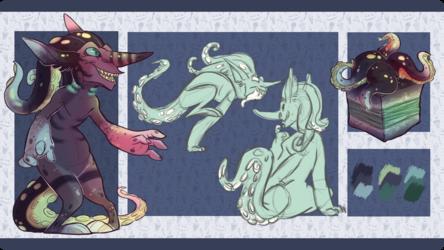 Octopus Sushi themed Goblin Summon