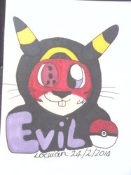 Headshot con badge for Evil-Squirrel