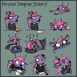 Personal Telegram Stickers - Doe