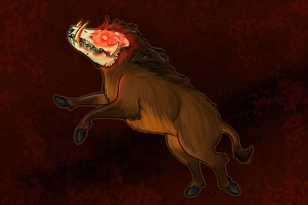 Ghostly Boar