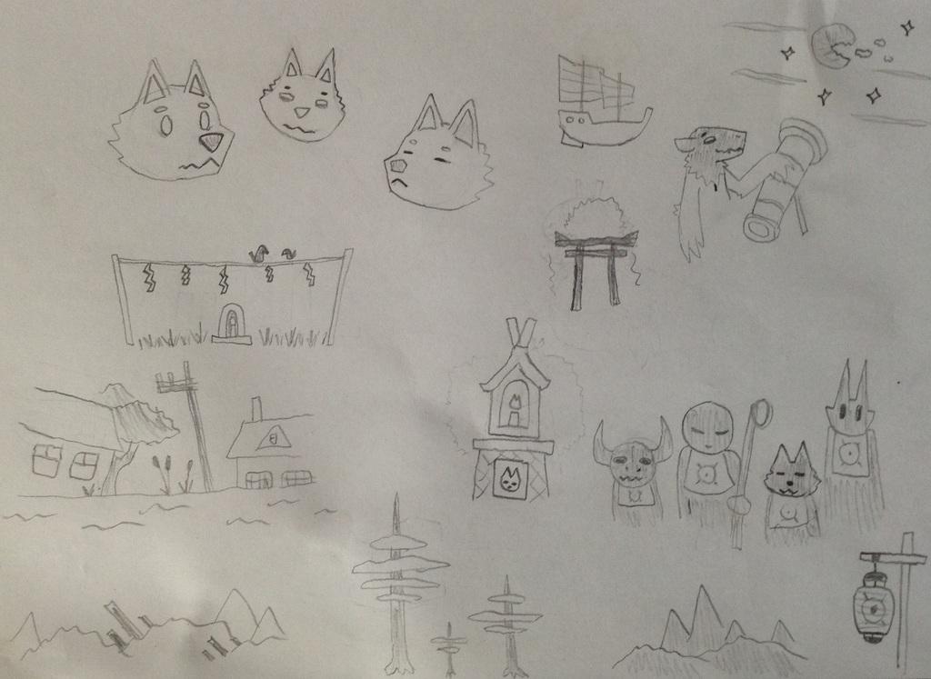 Simple Drawings (5)
