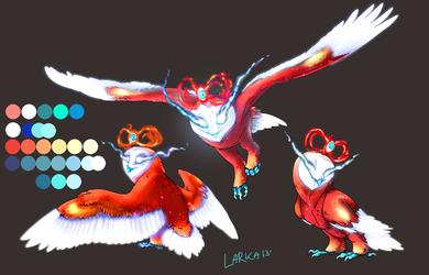 Hourglass Owl