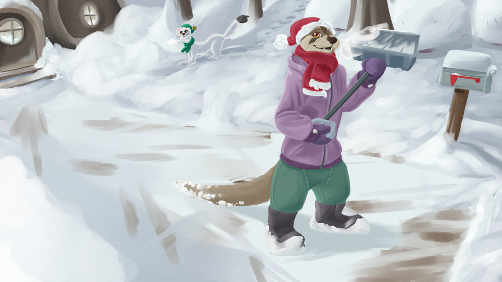 Most recent image: Otter Holiday
