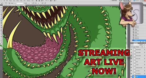 ART STREAM Shading for Game Monster: Cactus