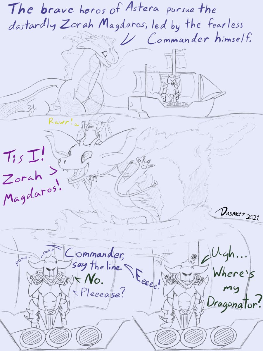 MHW Naval Battle (Sketch)