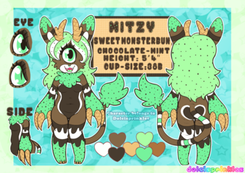 Reference Sheet: Mitzy