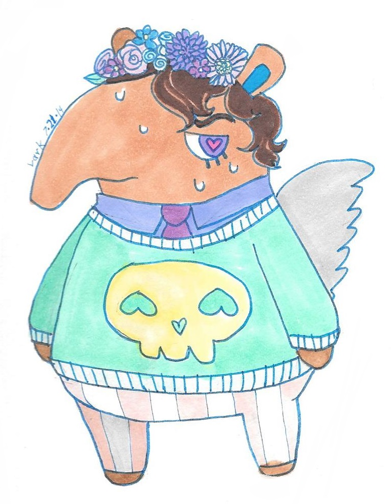 Pastel Olaf