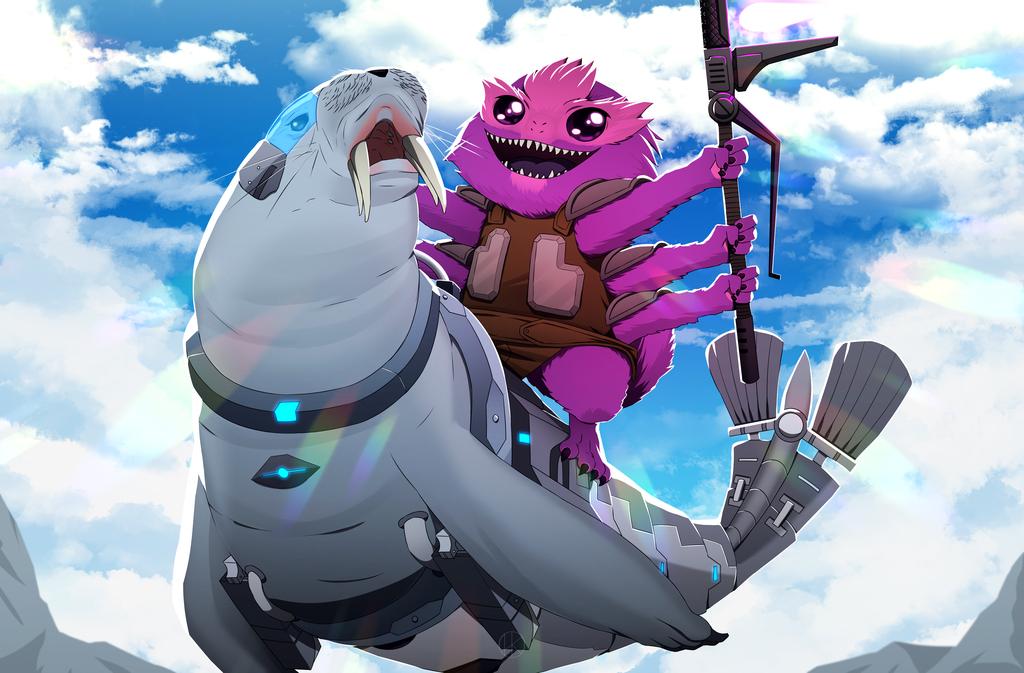 Most recent image: Captain Fuzzifuzz rides again!