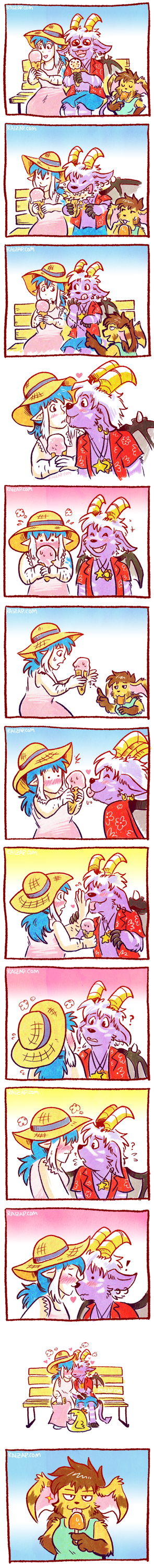 Ice Cream Kisses
