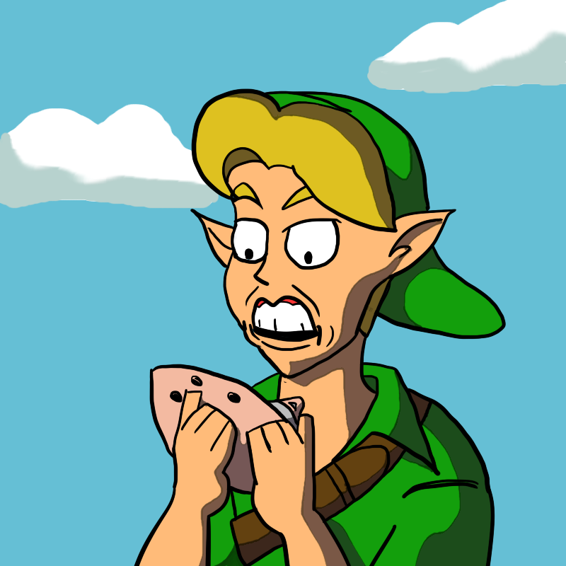 Link's Expression of Discovery