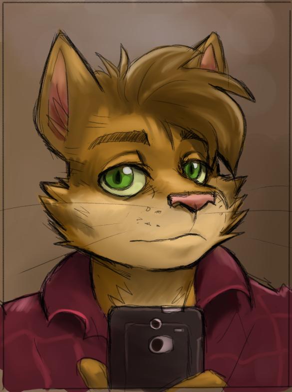Most recent image: Self Portrait