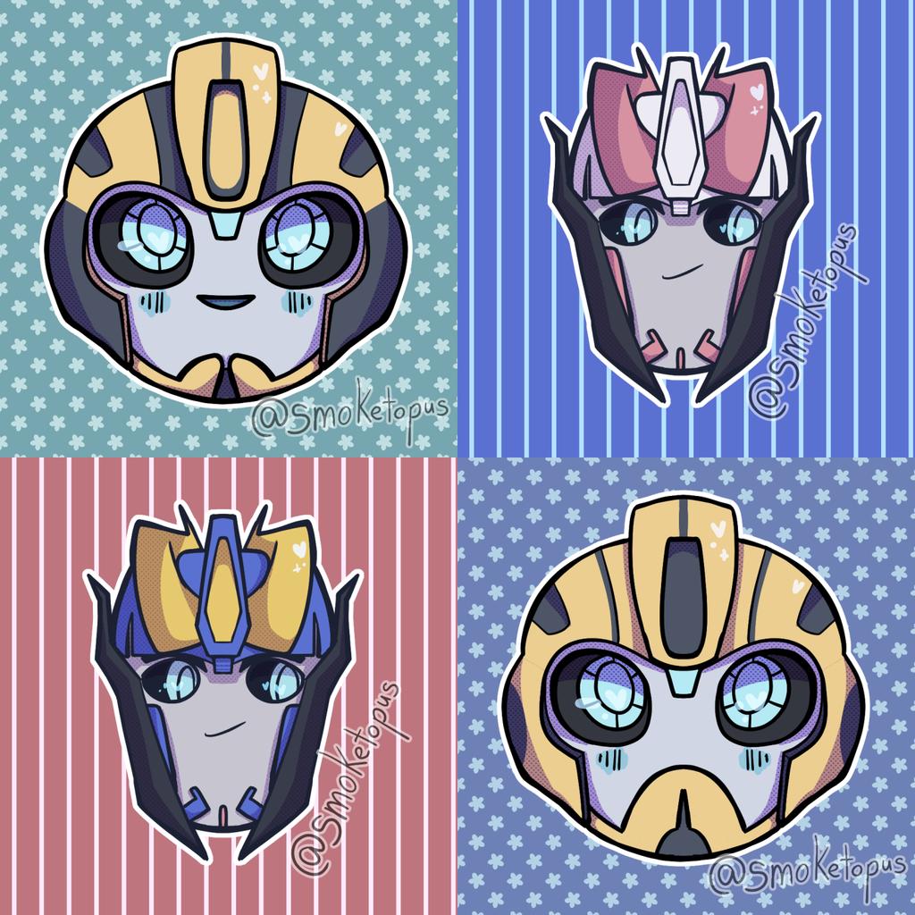 Bumblebee and Smokescreen Icons!