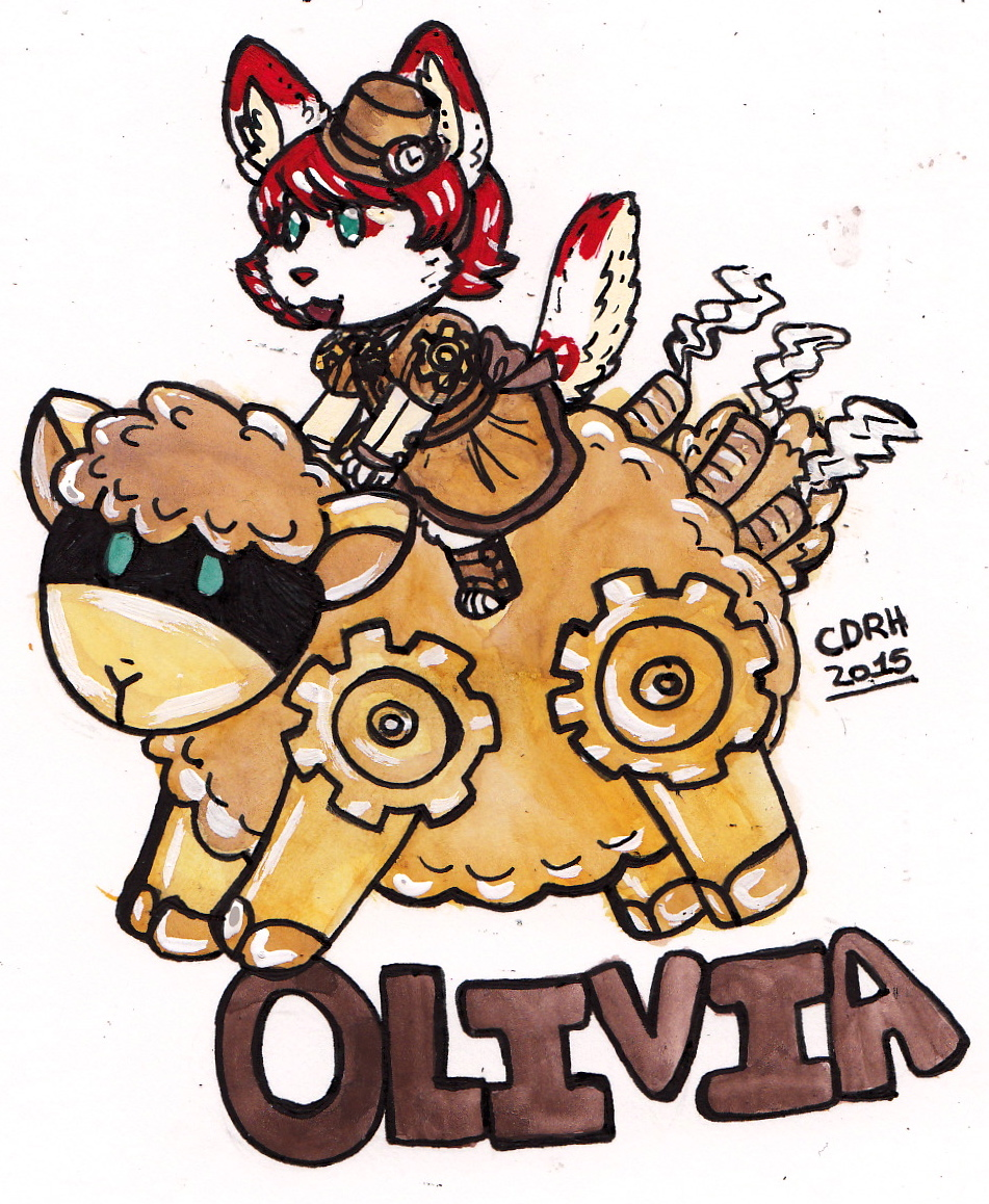 Olivia Sheep Rider