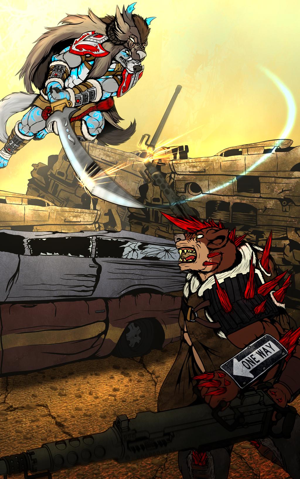 Iron Artist: Day 87 - Kibaookami Good vs. Evil