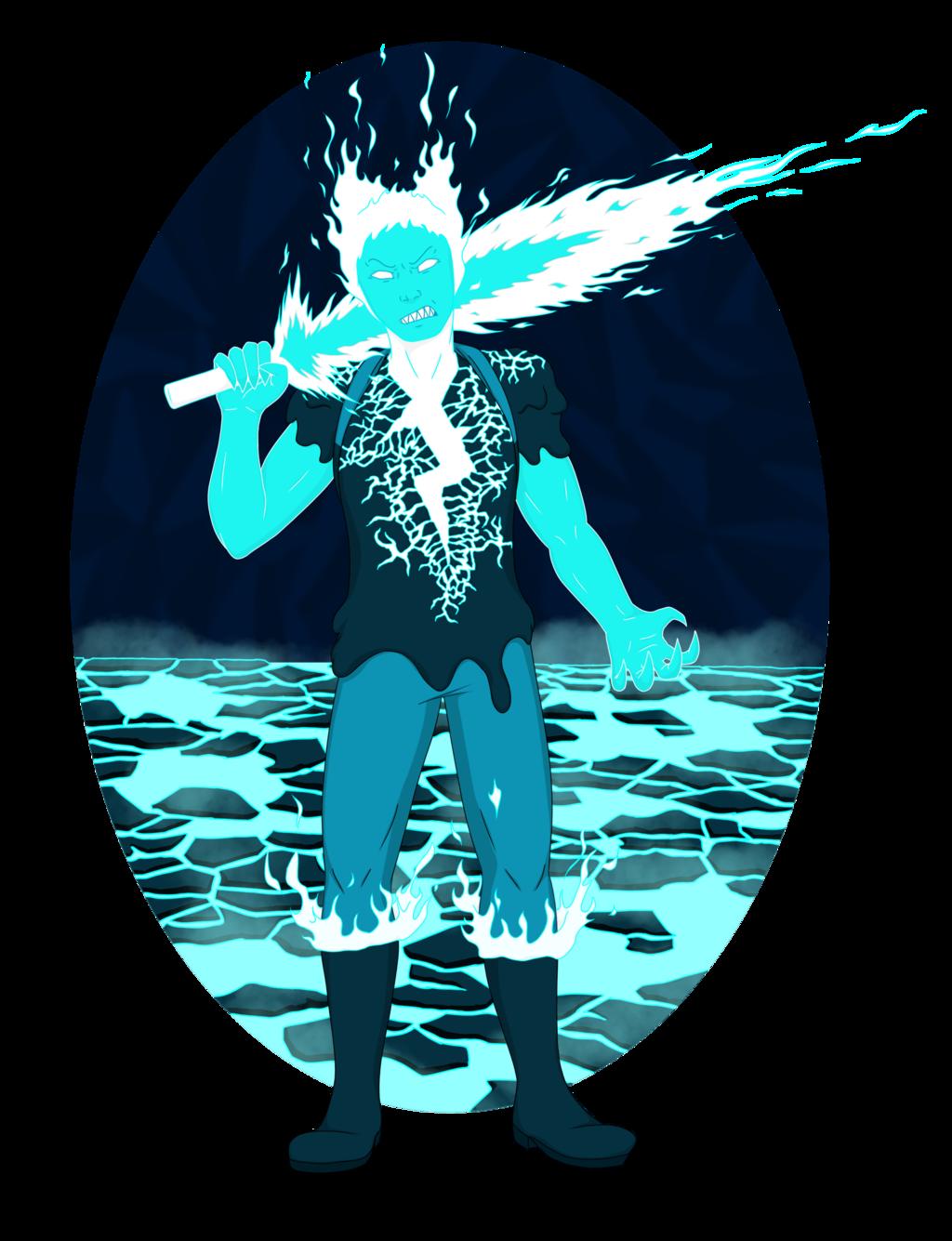 Fire Elemental Finn