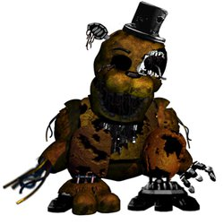 Ravaged Golden Freddy