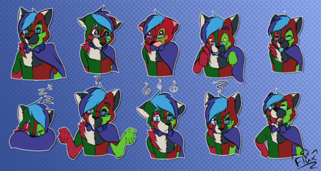 Commissions - Stickers for Ayzutho