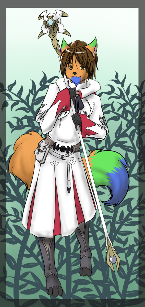 Most recent image: Nin White Mage