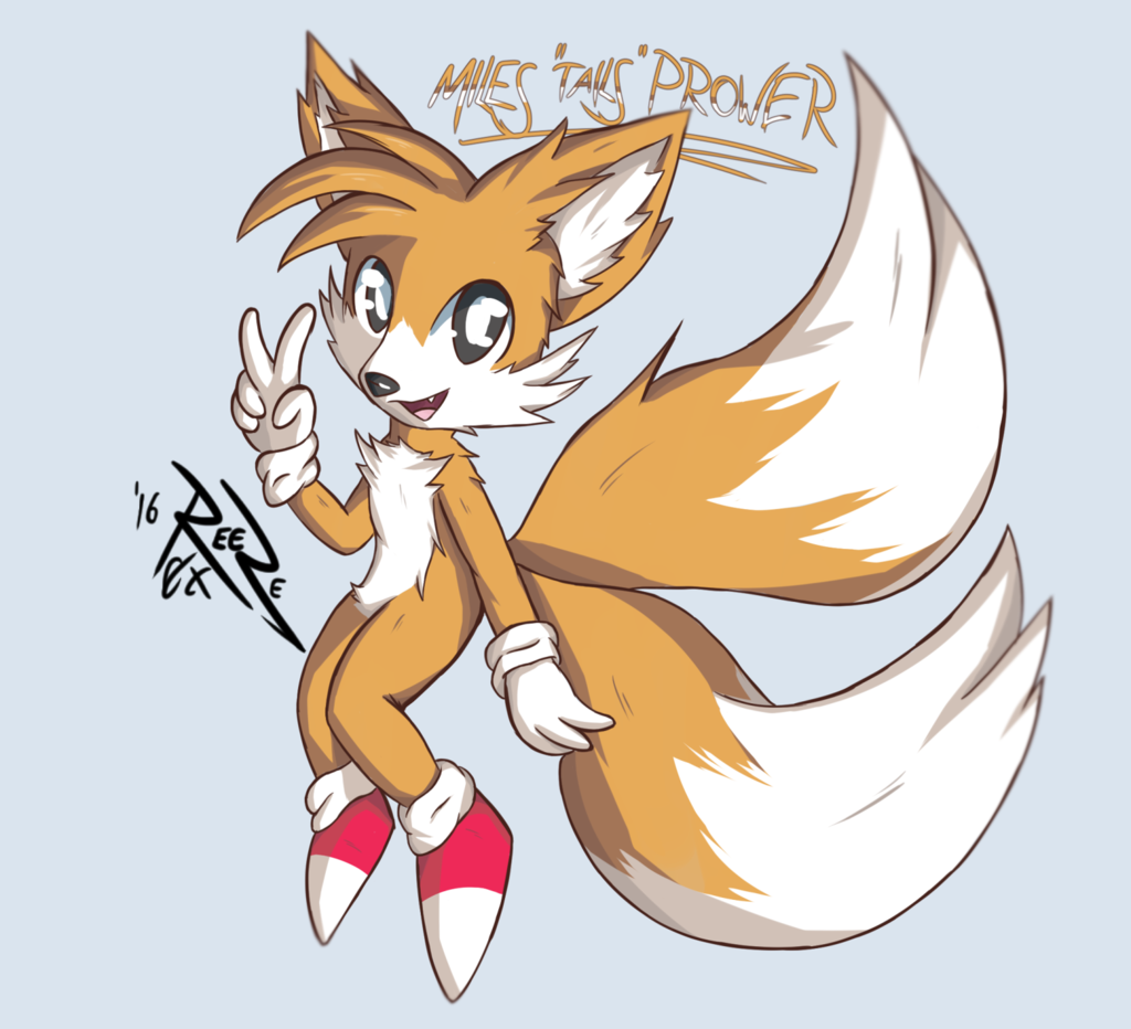 """Most recent image: Miles """"Tails"""" Prower"""