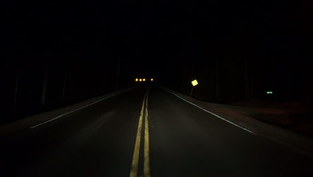 Night on a Desert Highway
