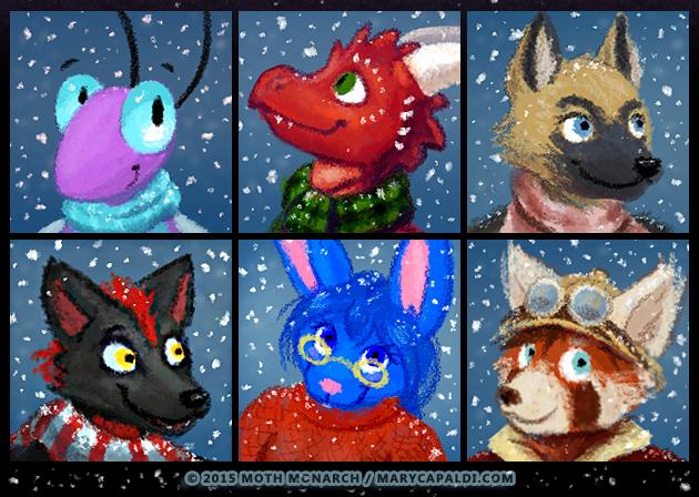Winter Avatars 5