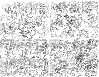 sketchpage examples - heart theme