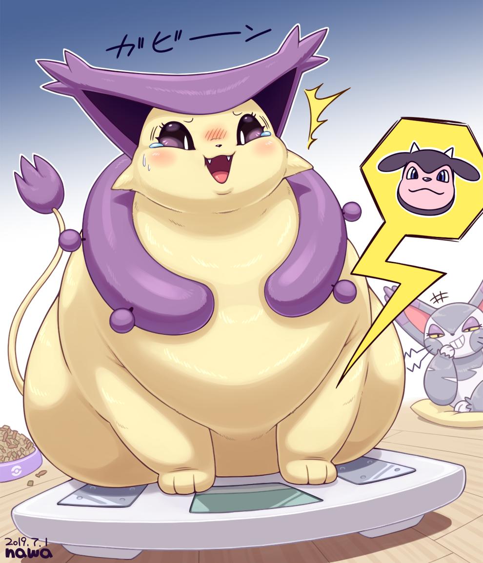 shocked chubby Delcatty
