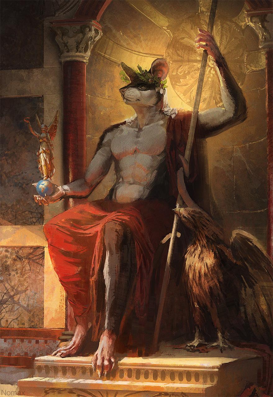 Iuppiter in caelis, Caesar regit omnia terris
